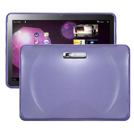 Impact (Lila) Samsung Galaxy Tab 10.1 Silikonskal