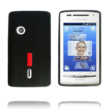 InCover (Svart) Sony Ericsson Xperia X8 Skal