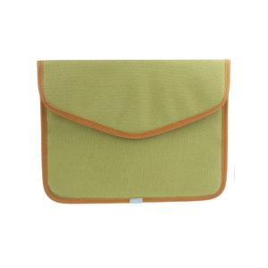 Canvas Bag för iPad 2 (Grön)
