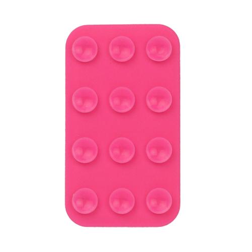 Dubbelsidig SmartPhone-Matta med Sugkoppar (Het Rosa)