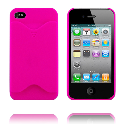iPhone 4 Card Manager (Rosa) iPhone 4 Skal