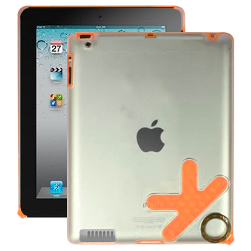 K1 Coach (Orange) iPad 2 Skal