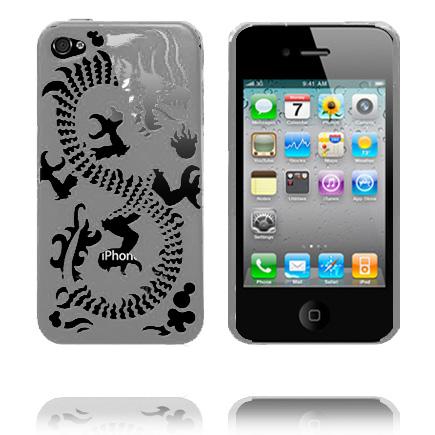 Kung Fu (Grå) iPhone 4 Skal