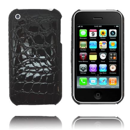 RaptorCase (Svart) iPhone 3GS Skal