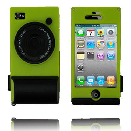 CamCase (Grön) iPhone 4 Skal
