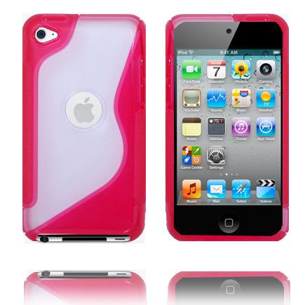 S-Line T4 (Röd) iPod Touch 4 Skal