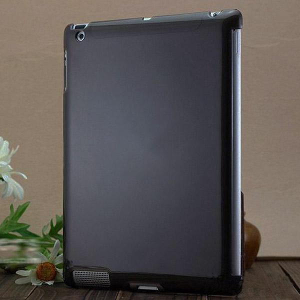 CandyColor Smart BackCover (Svart) iPad 2 Skal