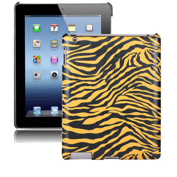 Zebra Fashion (Gul) iPad 2 Skal