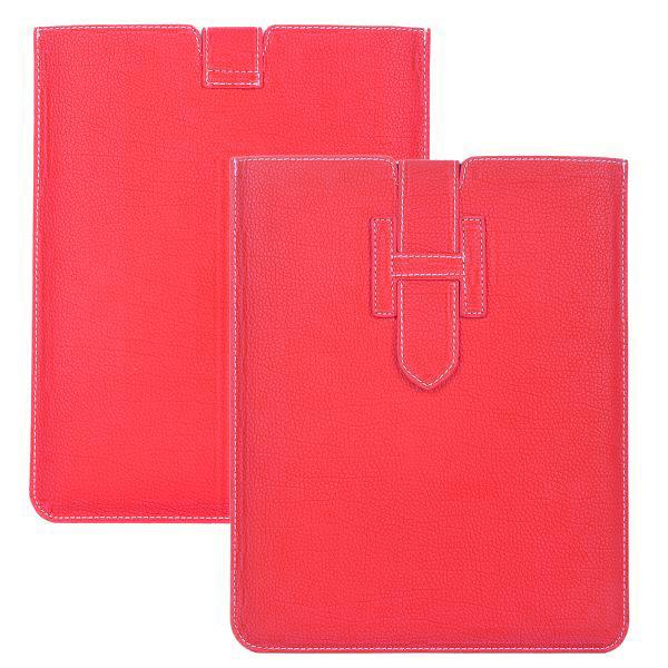 Business Läderpåse för iPad 3/iPad 4 (Het Rosa)