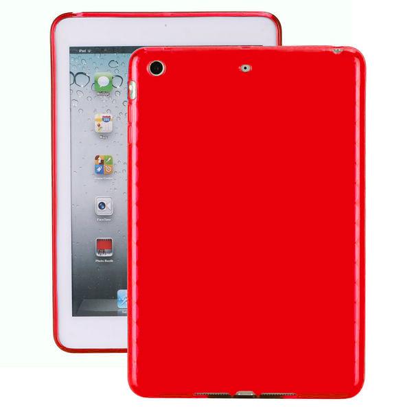 Mjukskal (Röd) iPad Mini Silikonskal