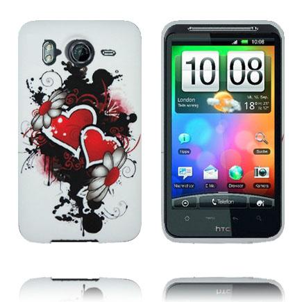 Symphony (Dubbla Blommor och Hjärtan) HTC Desire HD Skal