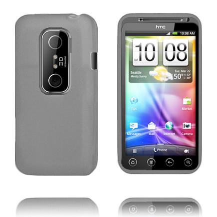 Mjukskal (Grå) HTC Evo 3D Skal