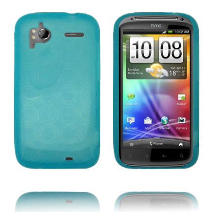 Amazona (Blå) HTC Sensation Silikonskal