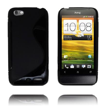 S-Line Massive (Svart) HTC One V Skal