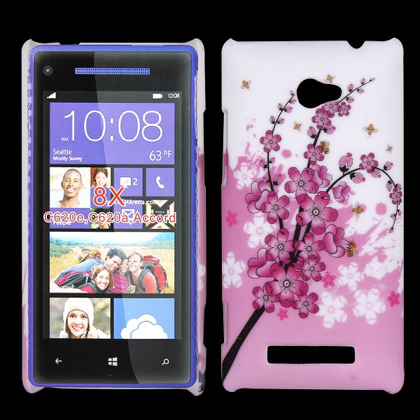 Valentine (Ver. 3) HTC Windows SmartPhone 8X Skal