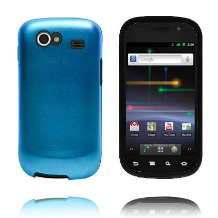 i9020 Guard (Ljusblå) Samsung Nexus S Skal