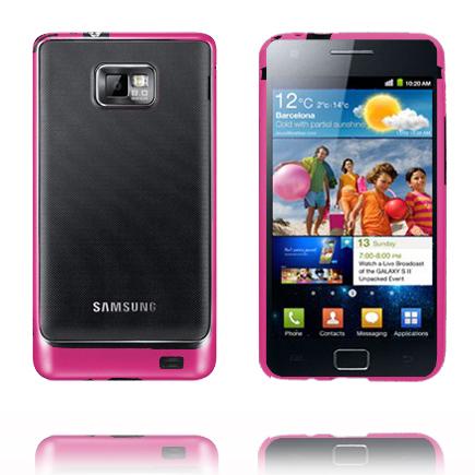 Bumper Ver 2 (Rosa-Svart) Samsung Galaxy S2-Bumper