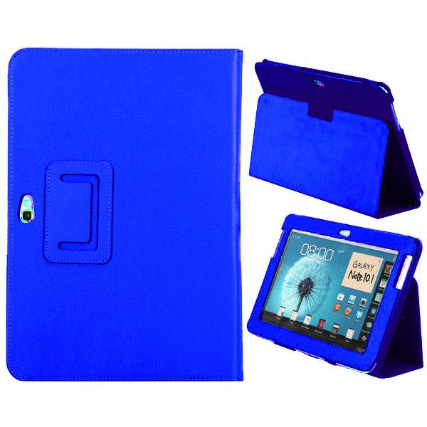 Classique Samsung Galaxy Note 10.1 Läderfodral (Blå)
