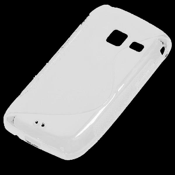 S-Line Solid (Vit) Samsung Galaxy Y Duos Skal
