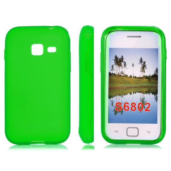Mjukskal (Grön) Samsung Galaxy Ace Duos Skal
