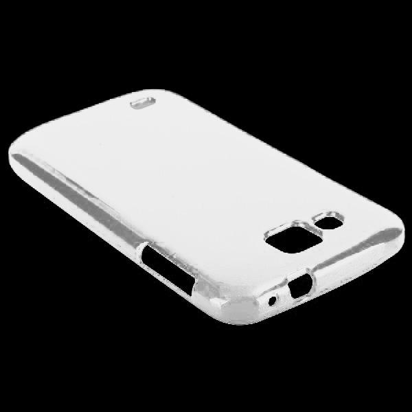Glitter Shell (Vit) Samsung Galaxy Premier Skal