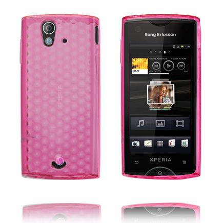 Cubes (Rosa) Sony Ericsson Xperia Ray Skal