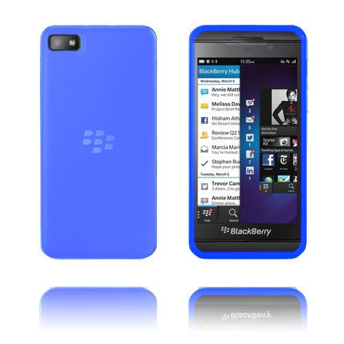 Mjukt Silikonskal (Ljusblå) för BlackBerry Z10