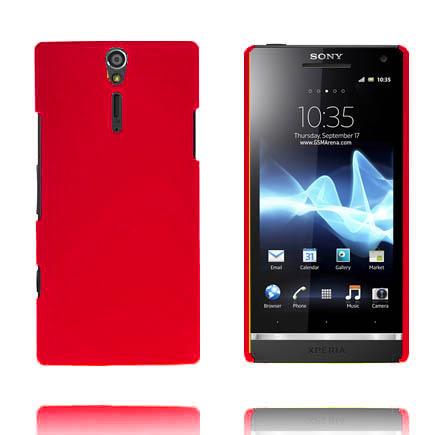 Hårdskal (Röd) Sony Xperia S Skal