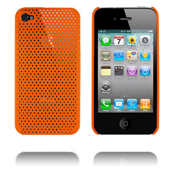 Atomic i4 (Orange) iPhone 4 Skal