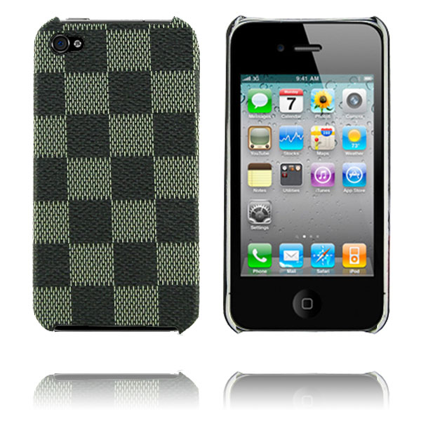 Chess (Silver) iPhone 4 Skal