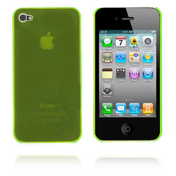 Slim Series (Lime) iPhone 4 Skal