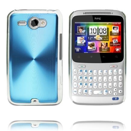 Aluminium Shield (Blå) HTC ChaCha Skal