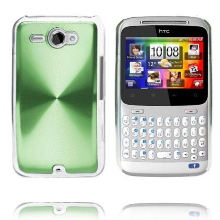 Aluminium Shield (Grön) HTC ChaCha Skal