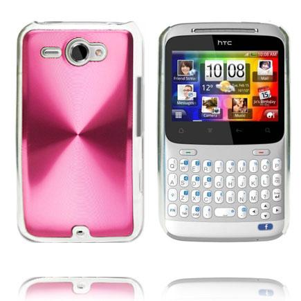 Aluminium Shield (Rosa) HTC ChaCha Skal