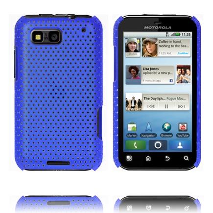 Atomic (Blå) Motorola Defy Skal