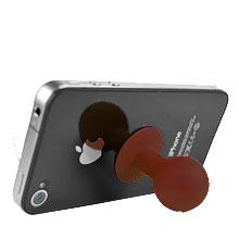 Minihållare för iPhone (Brun)