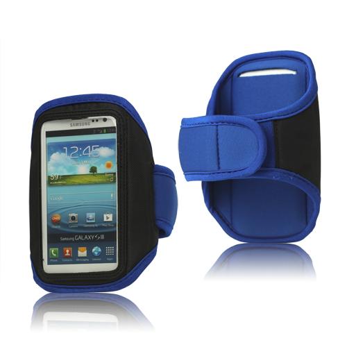 Runner – Sportarmband för Stora Smartphones (Blå)