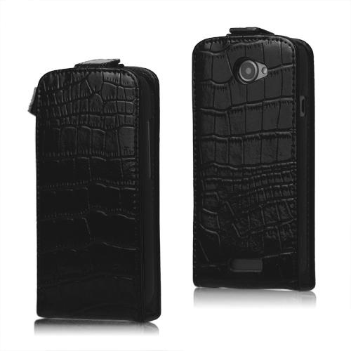 Raptor Läderfodral för HTC One S (Svart)
