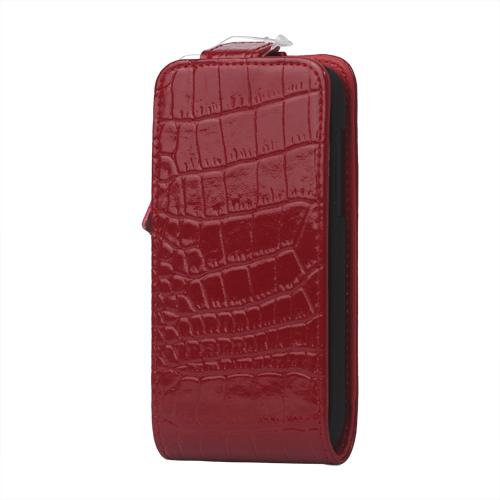 Raptor Läderfodral för HTC One V (Röd)