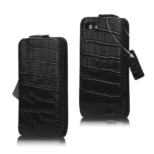 Raptor Läderfodral för HTC One V (Svart)