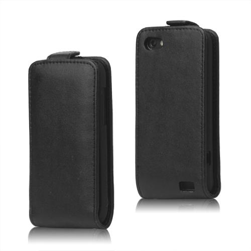 Business HTC One V Läderfodral (Svart)
