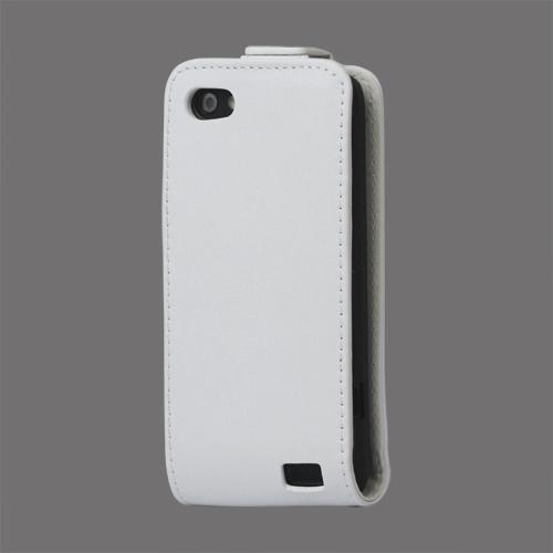 Business HTC One V Läderfodral (Vit)