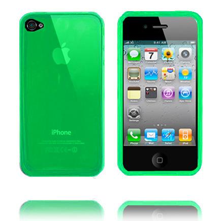 Nude (Grön) iPhone 4 / 4S Silikonskal