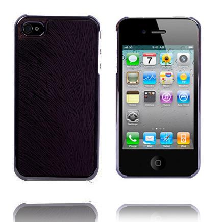 Oak Electroplated (Mörklila) iPhone 4 Skal