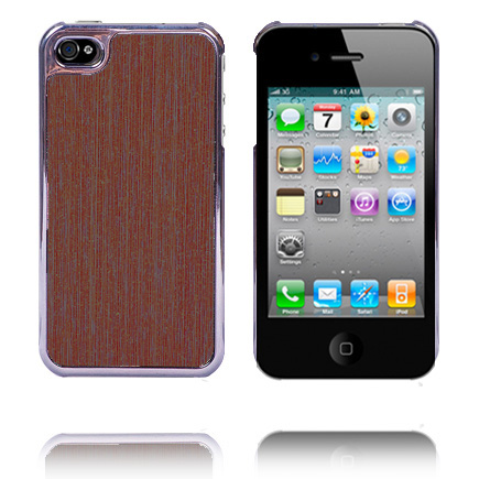 Office Electroplated Series (Brunt Timmer) iPhone 4 Skal