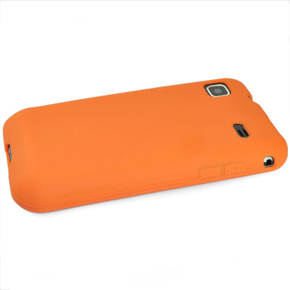 Mjukskal (Orange) Samsung Galaxy S Skal