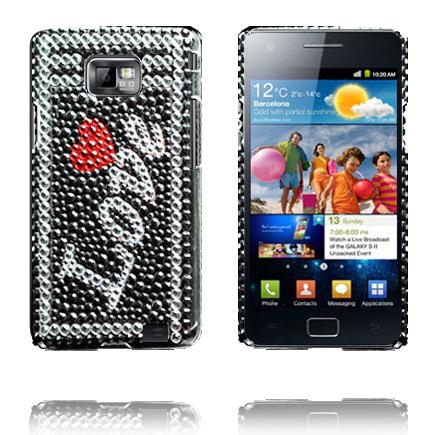 Paris (Kärlek) Samsung Galaxy S2 Bling-Bling Skal