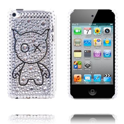 Paris (Silver Kattblink) iPod Touch 4 Skal med Bling-Bling