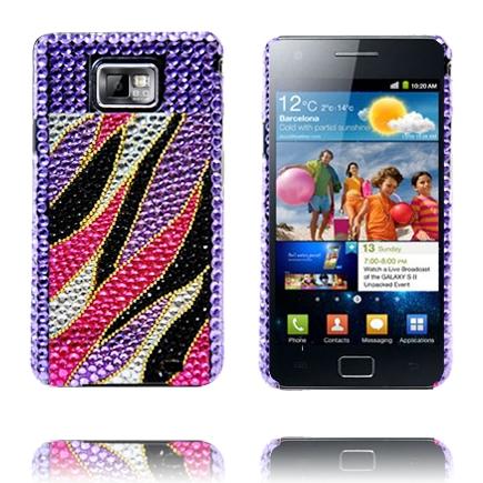 Paris Star (Rosa Flamma – Lila) Samsung Galaxy S2 Skal