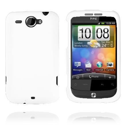 Enkelt Påsnäppbart (Vit) HTC Wildfire G8 Skal